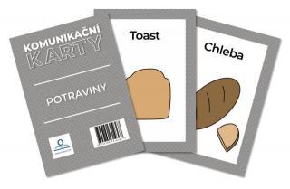 Komunikační karty PAS - Potraviny - Staněk Martin, PhDr. Mgr. [Karty]